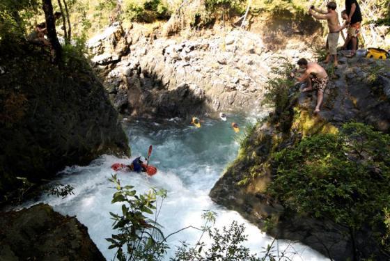 Palguin falls